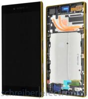 Sony Xperia Z5 premium Display Einheit gold