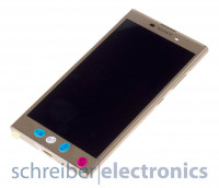 Sony Xperia L2 Display mit Touchscreen gold