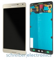 Samsung A700 Galaxy A7 Display Einheit gold