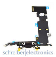 Apple iPhone 8 Plus Lightning / Audio Connector Anschluss schwarz