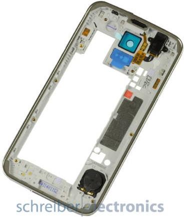 Samsung G900 Mittel-Gehäuse / Rückteil