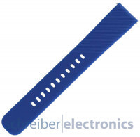 Samsung R600 Gear Sport Armband einteilig / Löcher Seite L blau