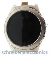 Samsung R732 Gear S2 Classic Display mit Touchscreen Platin silber