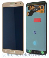 Samsung G903 Galaxy S5 Neo Display Einheit gold