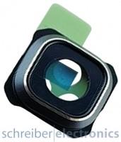Samsung G928F Galaxy S6 Edge+ Kamera Ring / Blende schwarz blau