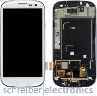 Samsung i9300 Galaxy S3 TouchScreen + Display weiß