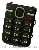 Nokia C5-00 Tastaturmatte (Tastenmatte) in schwarz