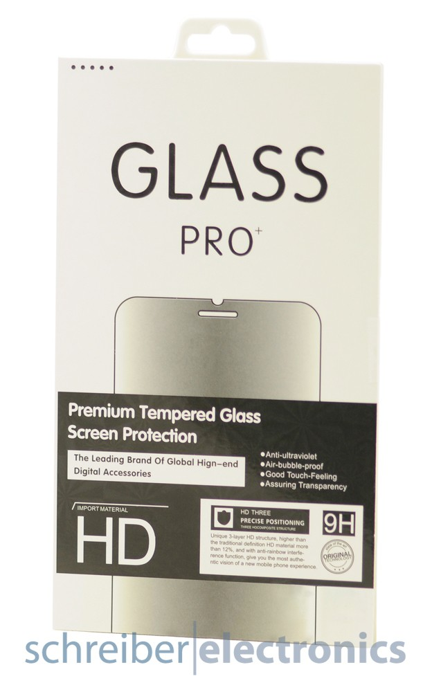 Echtglasfolie fuer Samsung i9195i Galaxy S4 mini value edition (Hartglas Echtglasschutz)