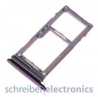 Samsung G960 Galaxy S9 / Plus Simkarten / Speicherkarten Halter lila