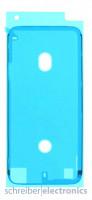 Apple iPhone 8 Plus Klebefolie / Dichtung Kleber Touchscreen weiss