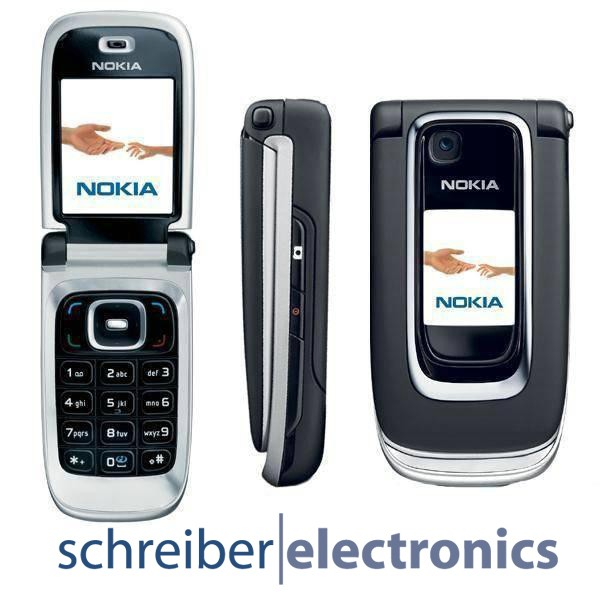 nokia 6131 handy schwarz neu vom fachh ndler ohne simlock black klapp telefon ebay. Black Bedroom Furniture Sets. Home Design Ideas