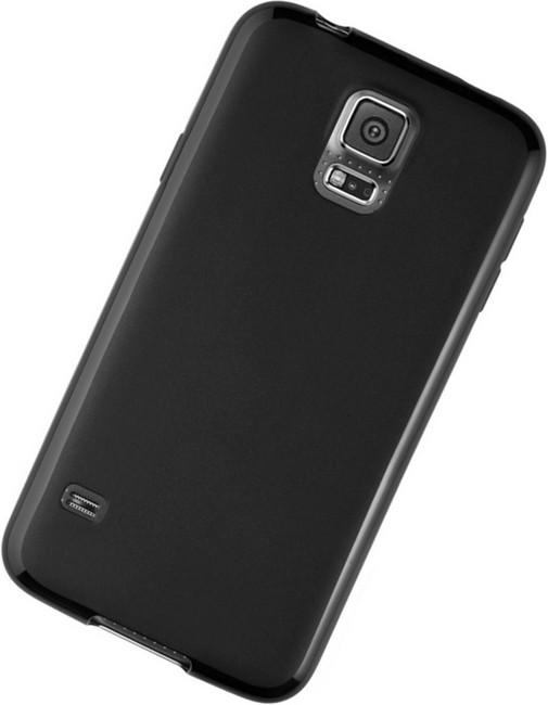 Samsung Galaxy S5 Neo Silikon-Hülle / Tasche schwarz