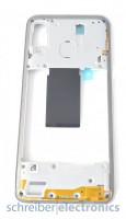 Samsung A405 Galaxy A40 Mittelgehäuse (Rahmen) weiss