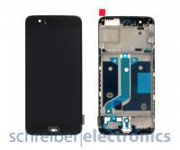 OnePlus 5 Display mit Touchscreen schwarz