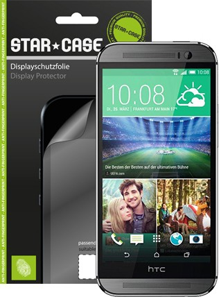 Display Schutzfolie StarCase Clear HTC One mini 2