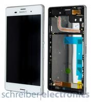 Sony Xperia Z3 Display Einheit, Touchscreen weiss