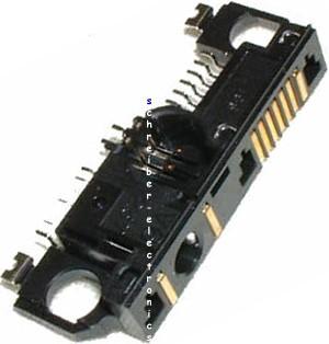 Original Nokia 6210/6310/6310i Anschlussleiste