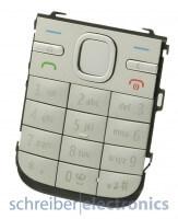 Nokia C5-00 Tastaturmatte (Tastenmatte) in silber