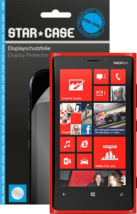 Display Schutzfolie Star-Case Clear Lumia 920