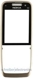 Nokia E52 Cover (Frontcover / Oberschale) gold