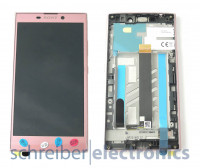 Sony Xperia L2 Display mit Touchscreen pink