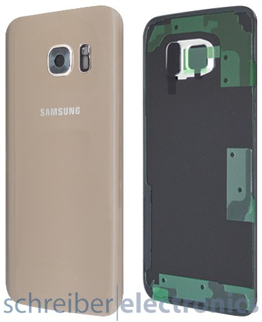 Samsung G930 Galaxy S7 Akkudeckel / Rückseite gold