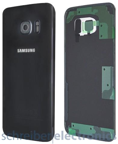Samsung G935 Galaxy S7 edge Akkudeckel schwarz