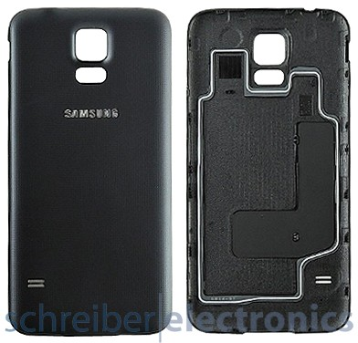 Samsung G903 Galaxy S5 Neo Akkudeckel schwarz