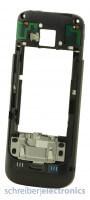 Nokia C5-00 Mittelgehäuse Backcover schwarz