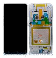 Samsung A805 Galaxy A80 Display mit Touchscreen silber