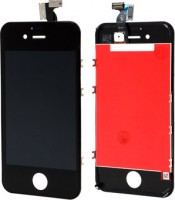 iPhone 4S Display mit Touchscreen & Scheibe black