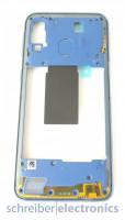 Samsung A405 Galaxy A40 Mittelgehäuse (Rahmen) blau