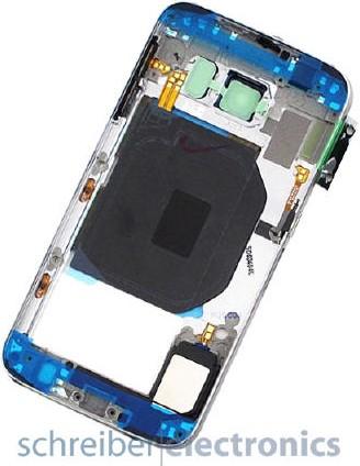 Samsung G920 Galaxy S6 Mittelgehäuse / Gehäuse