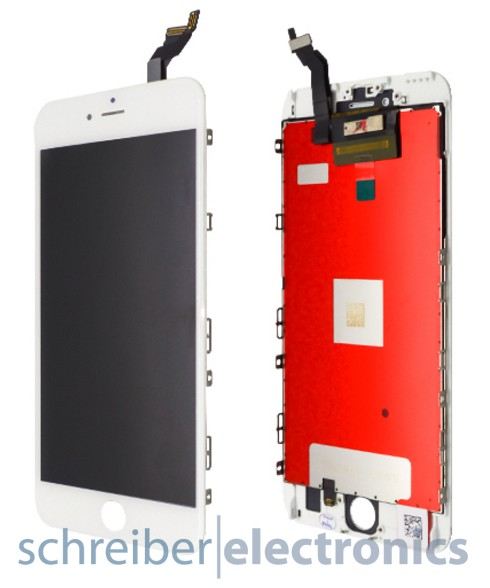 iPhone 6S plus Display mit Touchscreen weiss