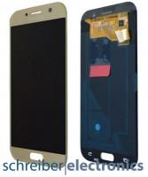 Samsung A520 Galaxy A5 (2017) Display mit Touchscreen gold