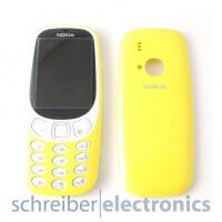 Nokia 3310 Cover (Gehäuse Oberschale) gelb