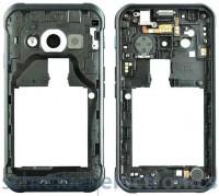 Samsung G388F Galaxy Xcover3 Mittel Gehaeuse mit Kamera Glas