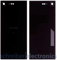 Sony Xperia XZ Premium Dual Akkudeckel Rückseite schwarz