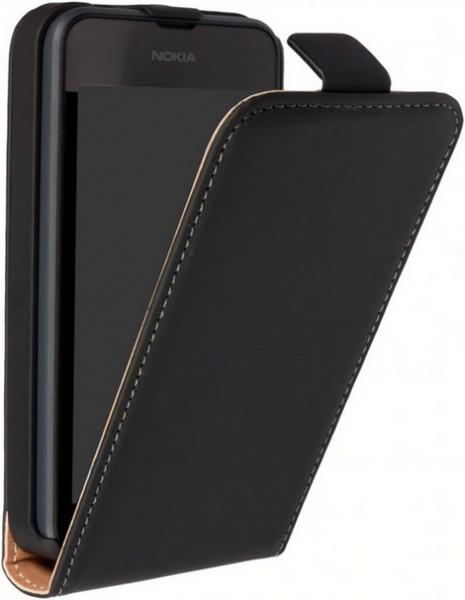 LG G5 H850 Leder Klapp-Tasche (Vertikal) schwarz