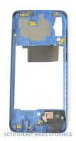 Samsung A705 Galaxy A70 Mittelgehäuse (Rahmen) blau