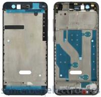 Huawei P10 Lite Display Montagerahmen schwarz