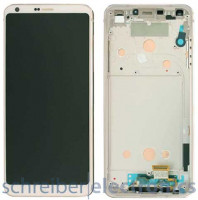 LG G6 H870 Display mit Touchscreen weiss