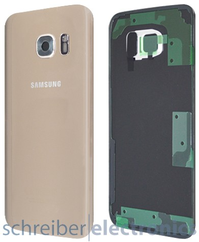 Samsung G935 Galaxy S7 edge Akkudeckel gold