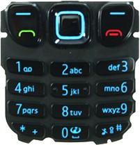 Nokia 6303 classic Tastatur (Tastenmatte) schwarz