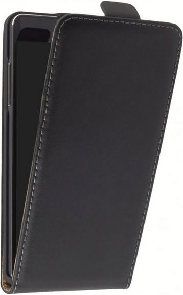 Samsung Galaxy A3 (2016) Klapp-Tasche (Flip-Case) schwarz