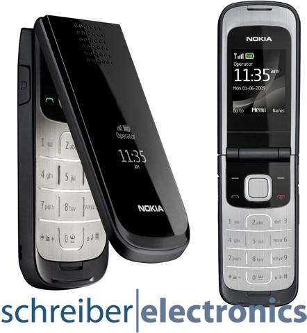 Nokia 2720 Fold Handy schwarz