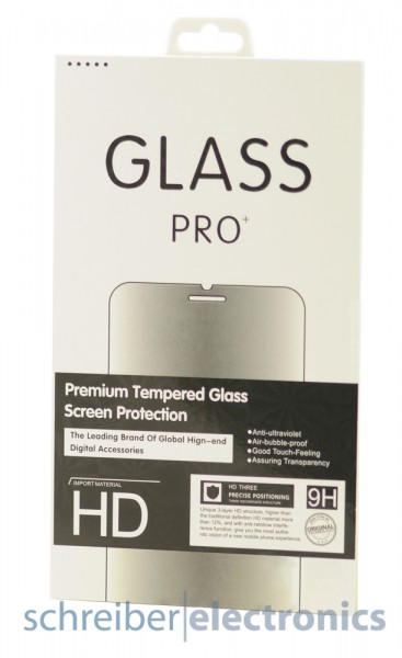 Echtglasfolie fuer Samsung G850 Alpha (Hartglas Echtglasschutz)