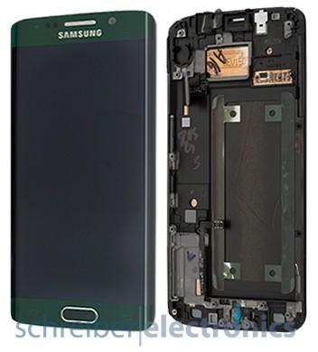 Samsung G925 Galaxy S6 edge Display-Einheit + Touchscreen grün