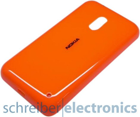 Nokia Lumia 620 Akkudeckel Orange