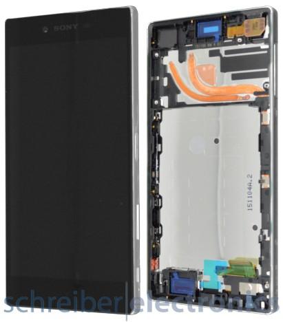 Sony Xperia Z5 premium Displayeinheit chrome silber